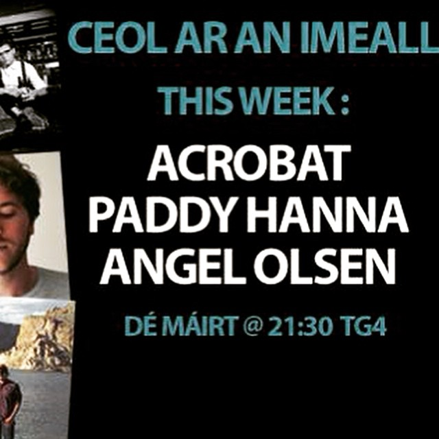 Tune into TG4 tomorrow night at 9:30! #AcrobatBand #TG4 #Ceolaranimeal