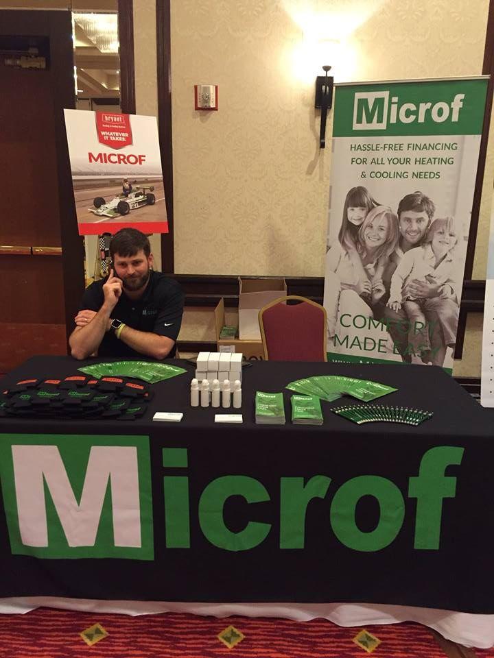 Microf Pop-Up Tradeshow Banner-Design