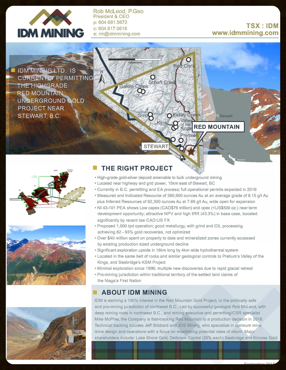 IDM Mining Fact Sheet