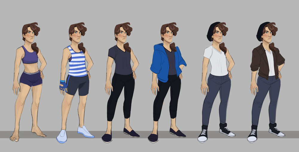 PROJECT SOLACE: Alex's Wardrobe