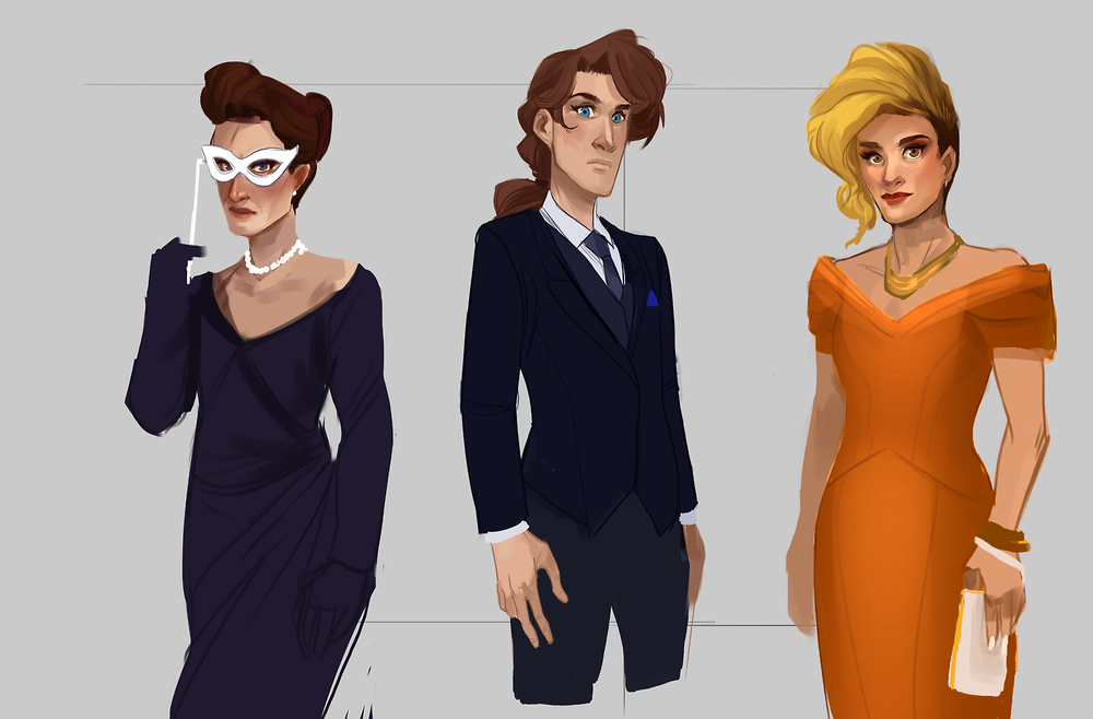 Project Solace: Formalwear concepts