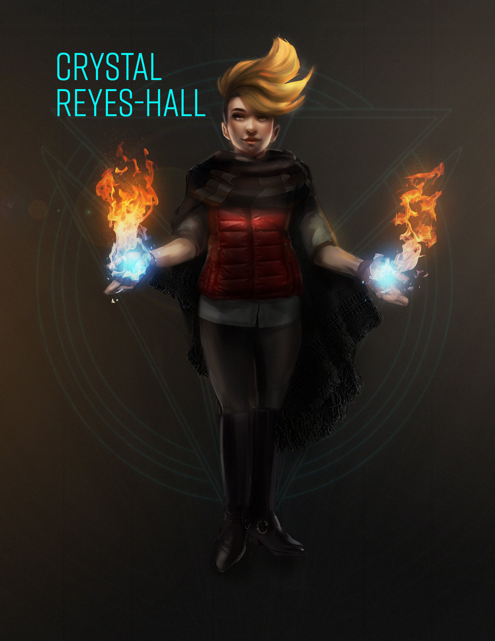 Project Solace: Crystal Reyes-Hall