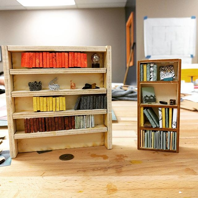 A mini-library for our makerspace. #girlsmakingstuff  #MadeAtCatylator #Catylator #Makerspace #SilverSpring #TakomaPark #DC #MD #ACreativeDC #Kidmade #STEAM #STEM #Projectbasedlearning #21stcenturyClassroom #EDTech #Innovate #YoungEngineer #EducationTechnology #Create #makersgonnamake