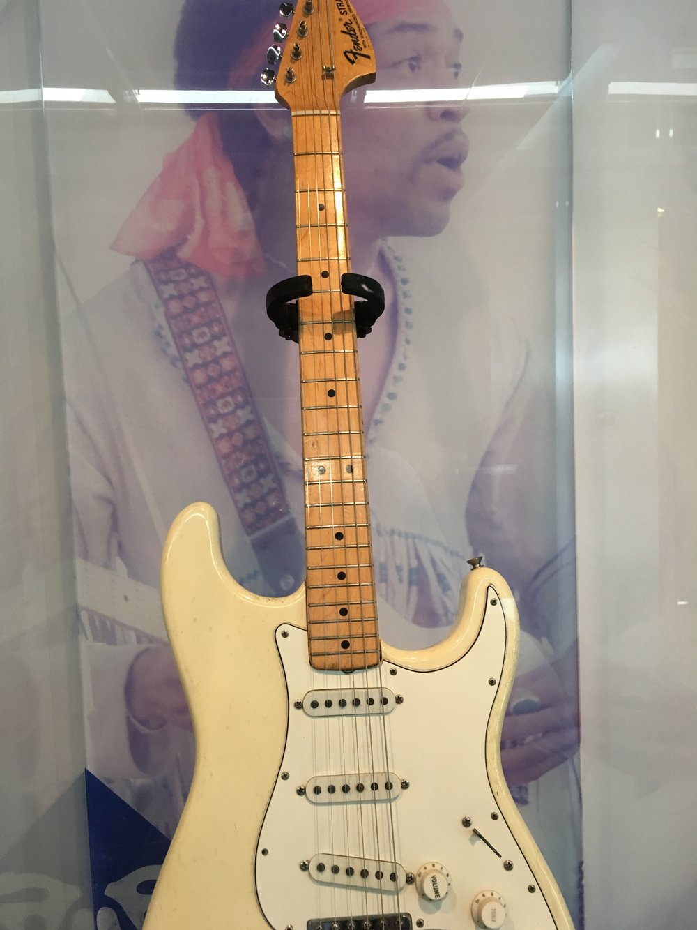 Guitar Jimi Hendrix Played at Woodstock