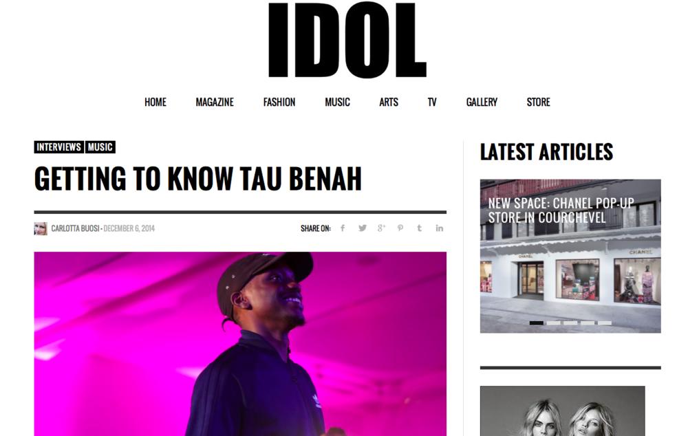 Tau Benah IDOL Magazine