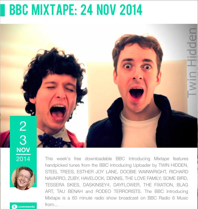 Tau Benah BBC Introducing Mixtape