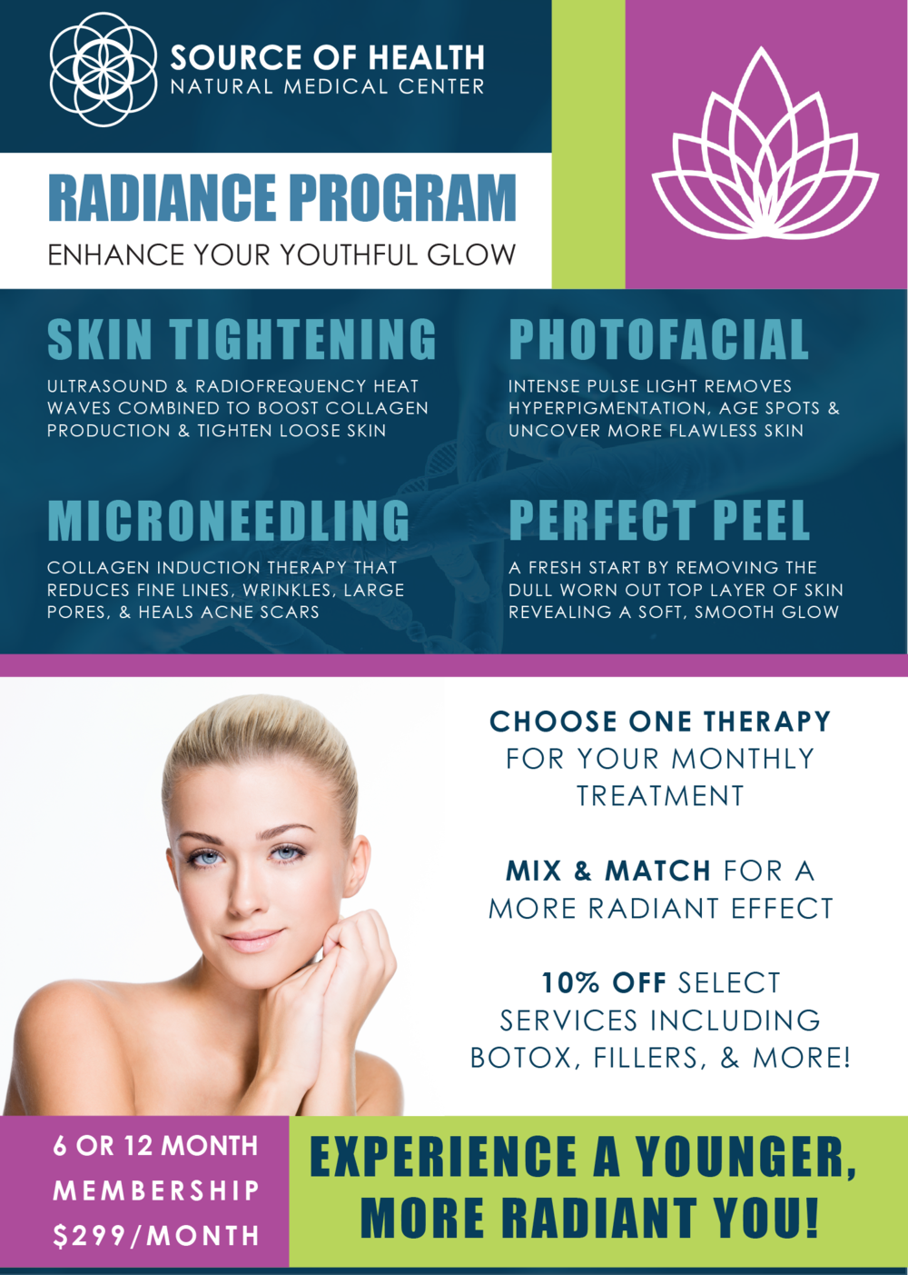 Aesthetics Radiance Program