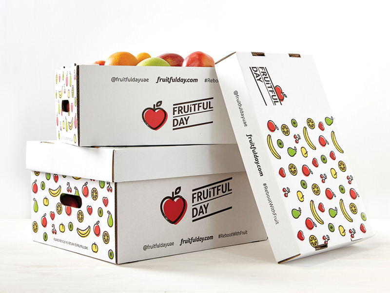 Fruitful Day Brand Strategy, Brand Identity, Packaging
