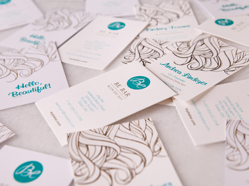 Be Bar – Blow Dry Bar Brand Strategy, Brand Identity, Collateral