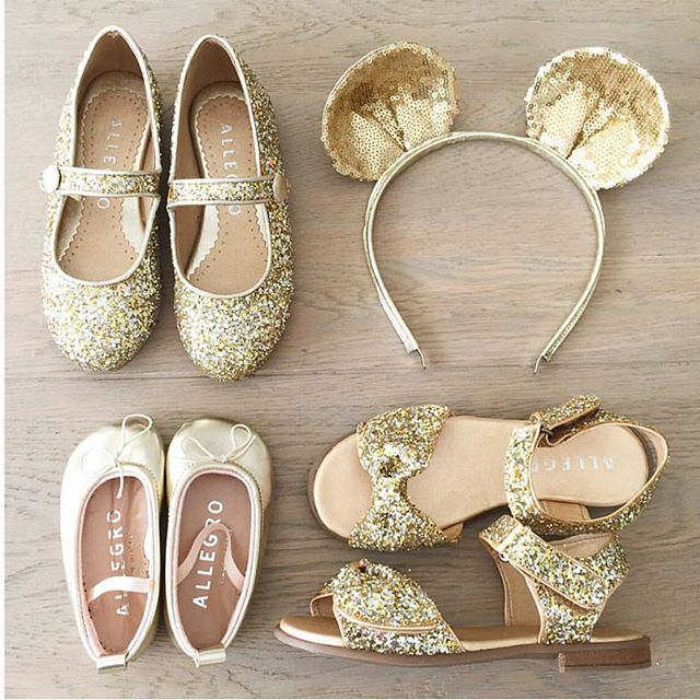 Adding some sparkle to this Monday morning courtesy of @allegrochild. 🌹  #allegrochild #momentsofbeauty #clientlove #swoon #gold #sparkle #glitter #girls #shoes #babyshoes #fashion #littleones #love #details #branding #design #handmade #madewithlove #homegrown #women #womeninbusiness #dubaikids #dubaimums #Dubai #mydubai #uae