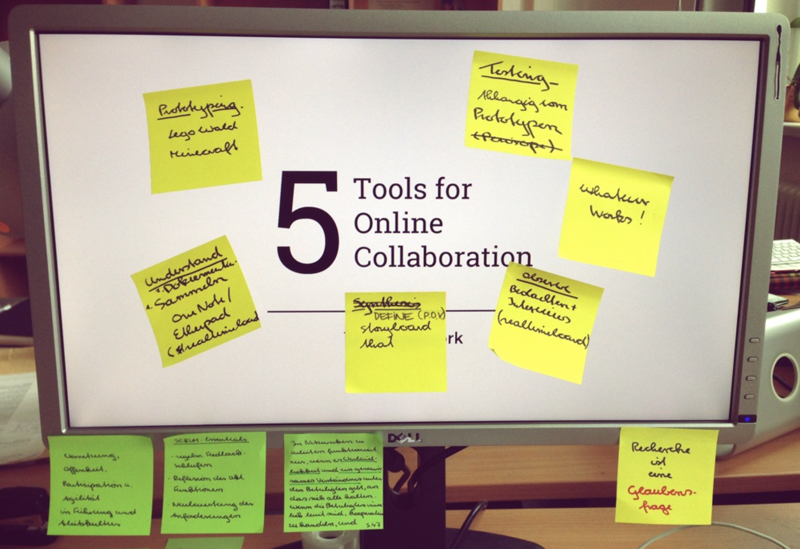 Abbildung 1: Online-Zusammenarbeit ist nicht auf Google Docs beschränkt.