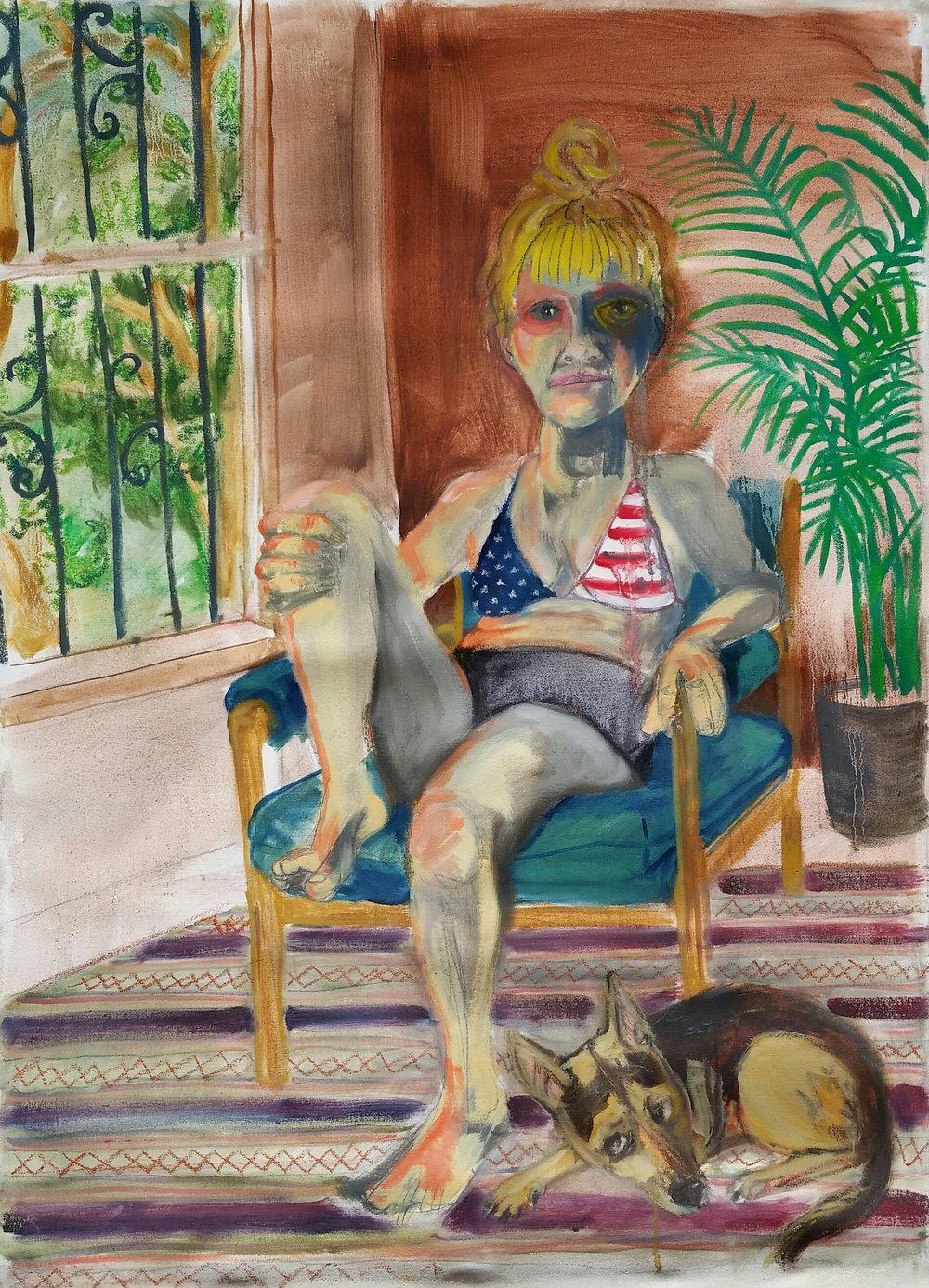 I Want An American Flag Bikini
