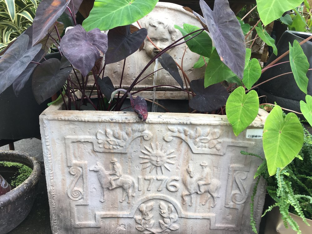 Copy of Imported Fountain with Water Plants