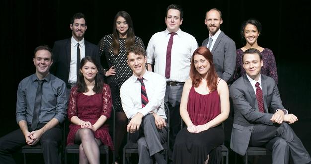 Top Row (Left to Right):Michael Frishman,Olivia Williamson,Brian Owen,Matthew Olsen,Andrea Adnoff Bottom Row (Left