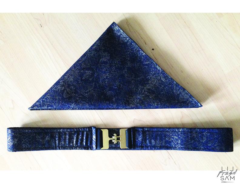 Custom Belt & Bandana
