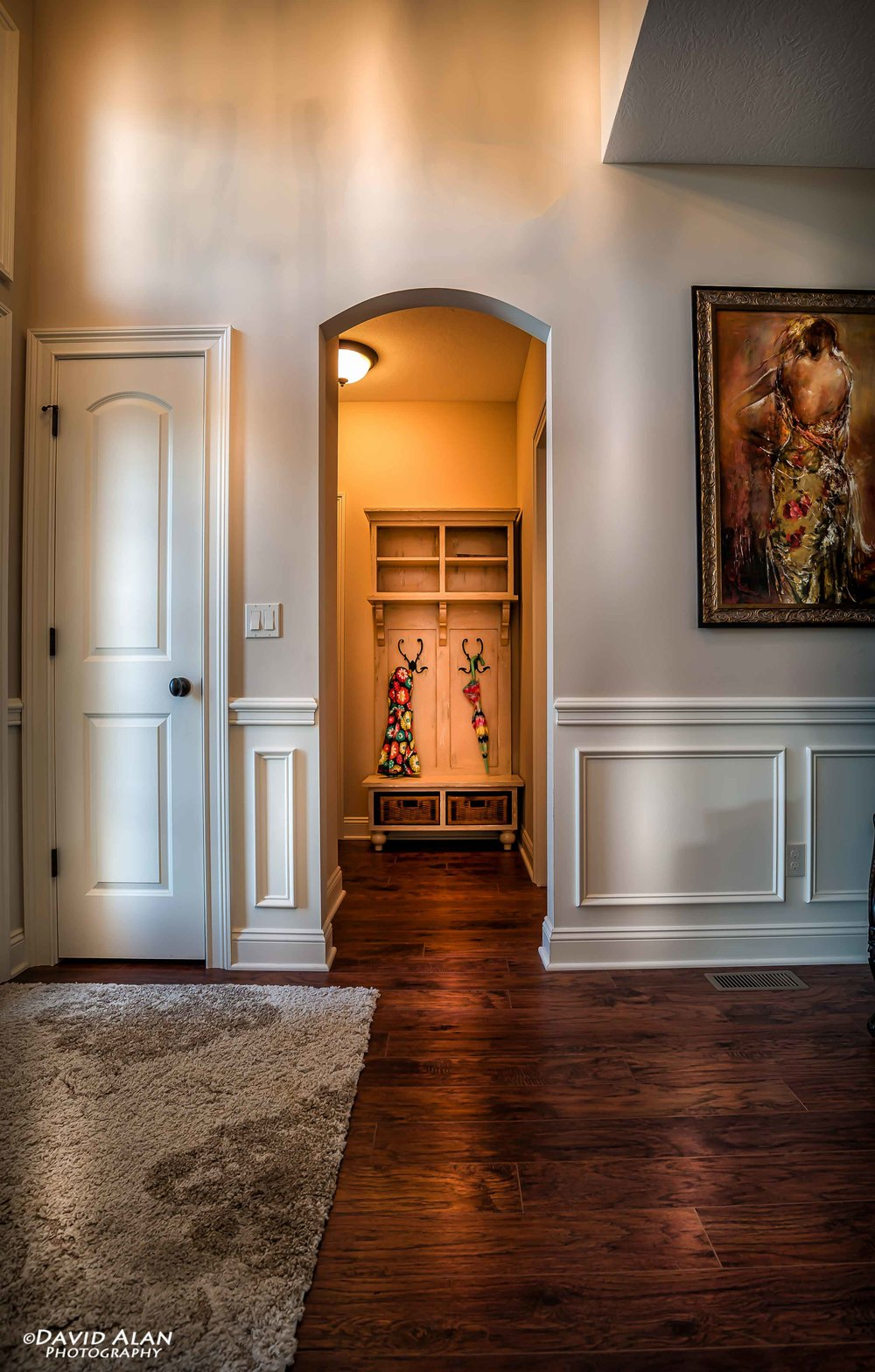 Foyer to Mudroom