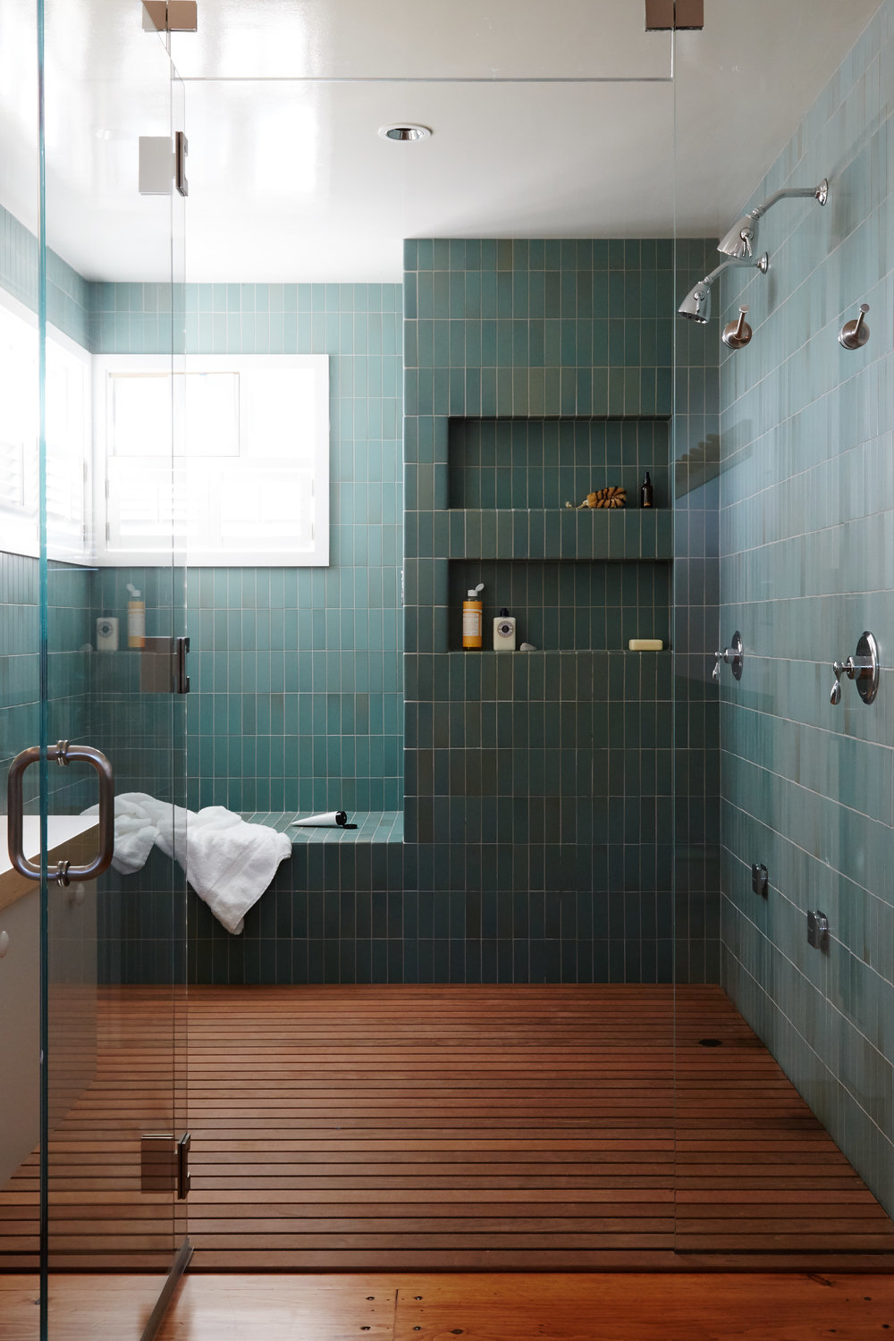 Heath Tile Specified for Steam Shower