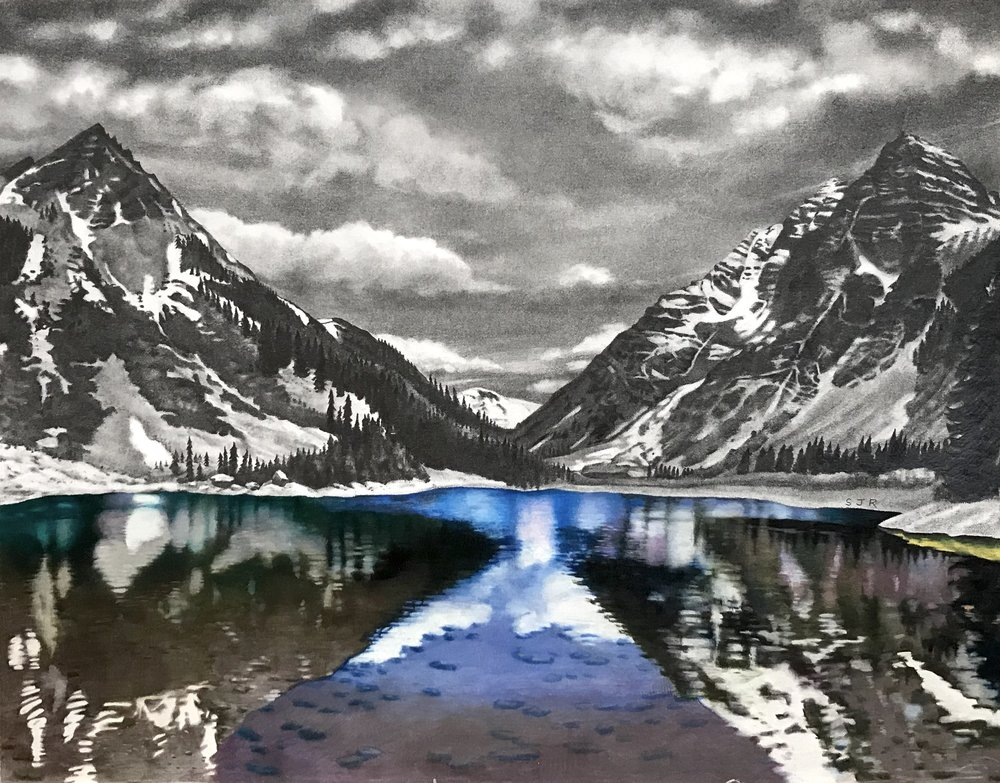 Maroon Bells: Spring Comes
