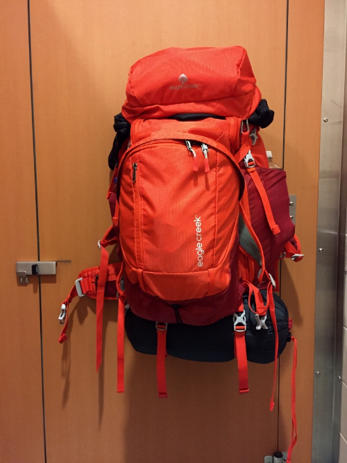 My new Eagle Creek travel pack ready to rock!