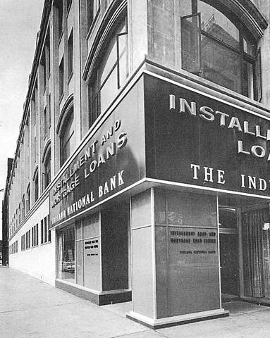 Indiana National Bank, 1960's