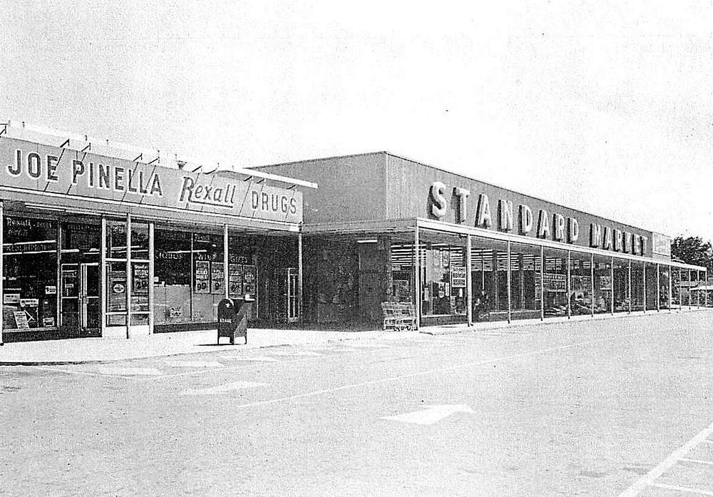 U.S. 421 & South Emerson Shopping Center, 1960's