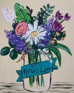 Celebrate Mom with a paint party dedicated just to her.  -