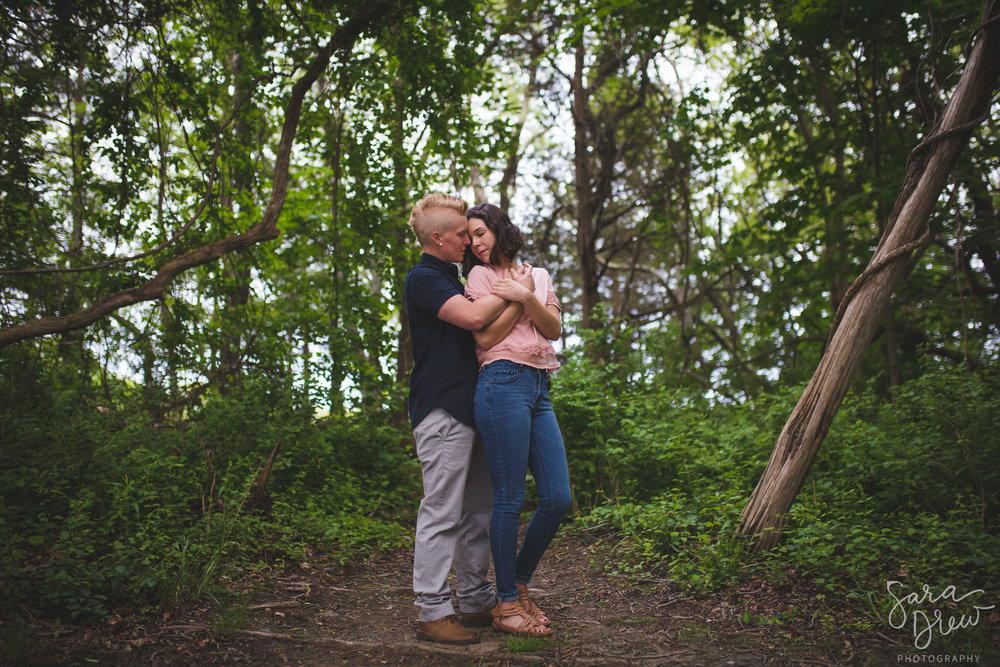 colt state park engagement session
