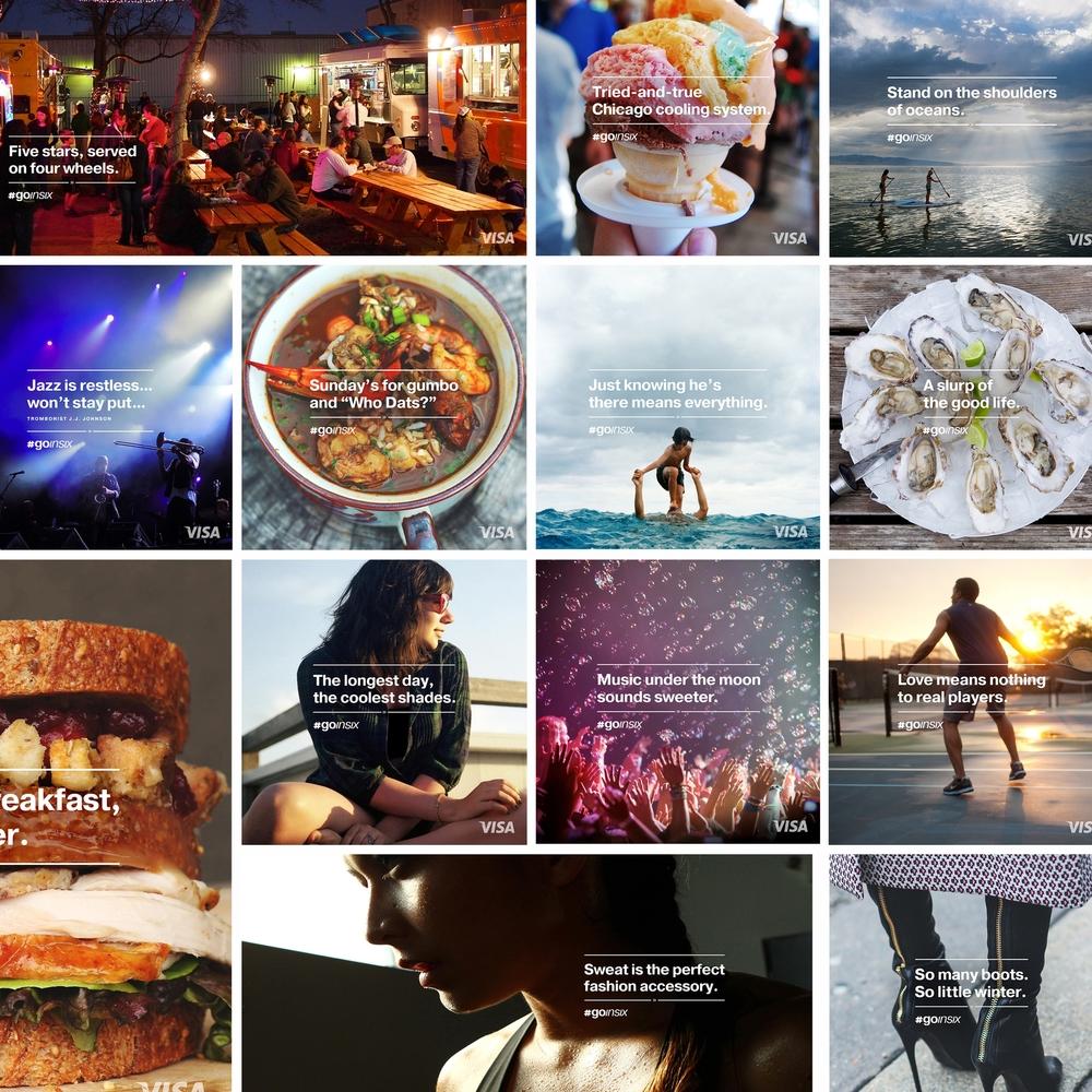 Visa #GoInSix Social Platform