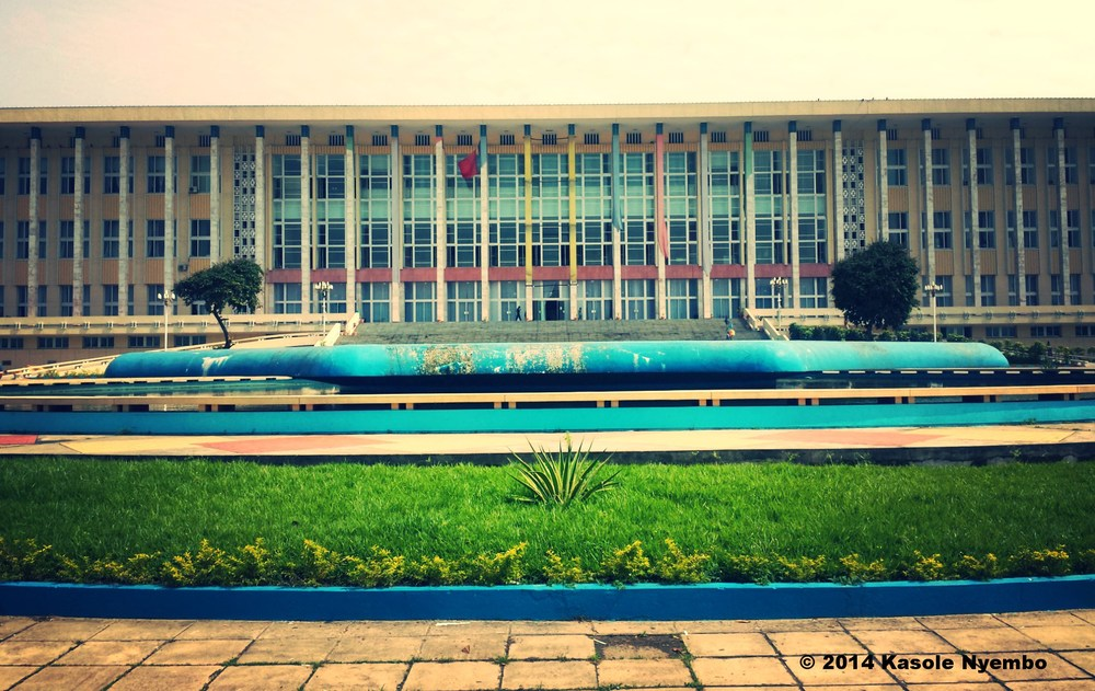 Parliament of the Democratic Republic of Congo in Kinshasa. The country has been under U.S. sanction since 2006.