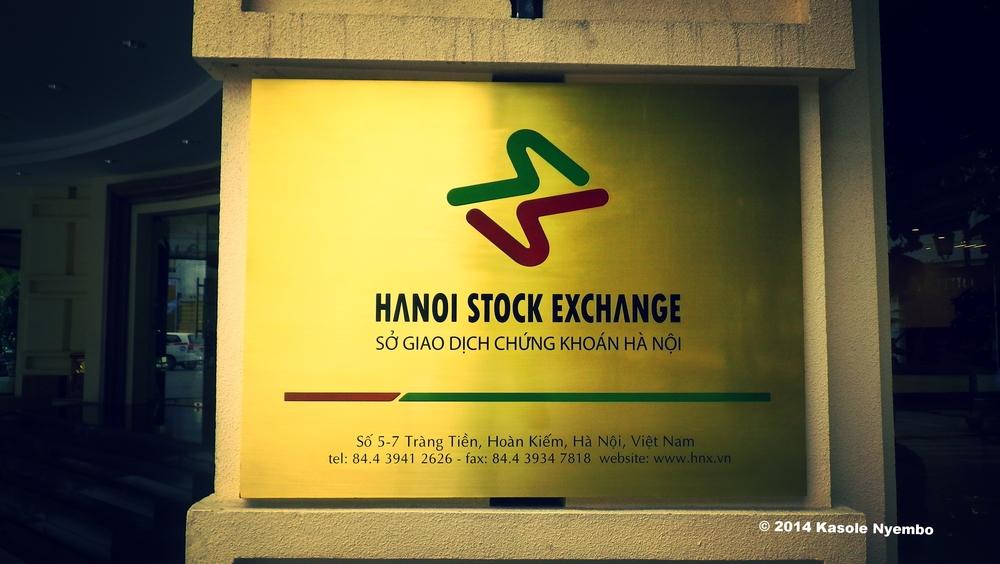The Hanoi Stock Exchange, Vietnam