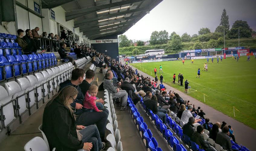 Bears 454 strong crowd versus Swinton