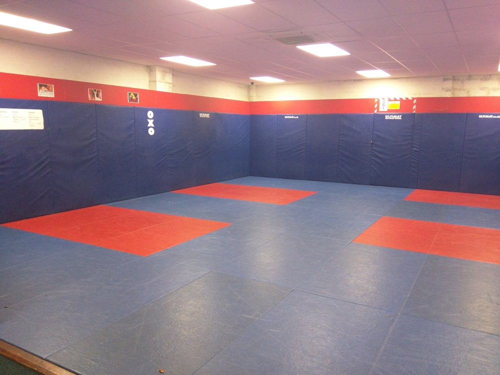 One of the two huge Dojos at the facility which the Bears will utilise for training