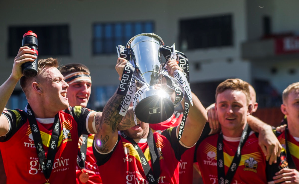 North Wales Crusaders who were crowned Champions last season