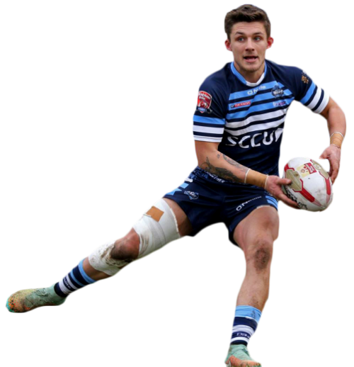 Coventry Bears Joel James who has used Sportstapesuk for his injury rehabilitation