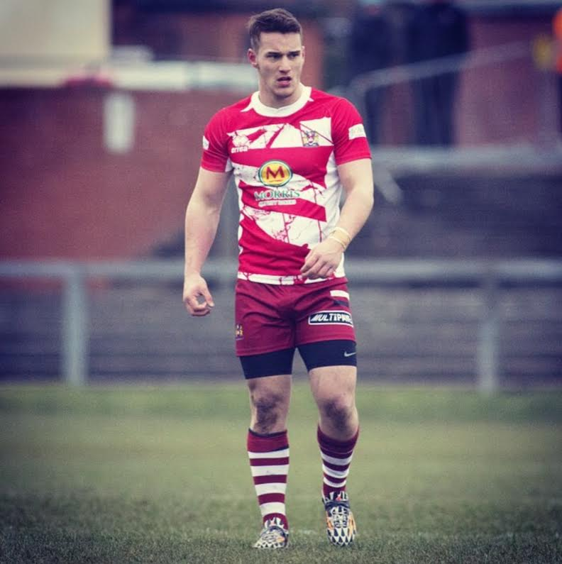 Kieran Sharratt while at Wigan Warriors