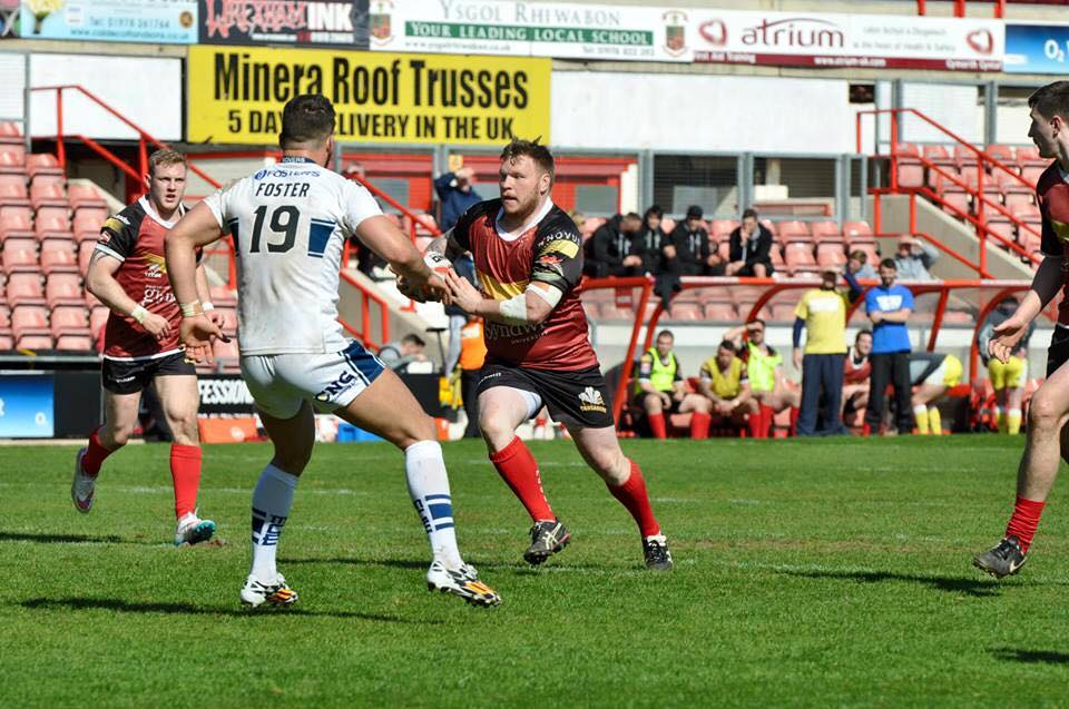In action for North Wales Crusaders
