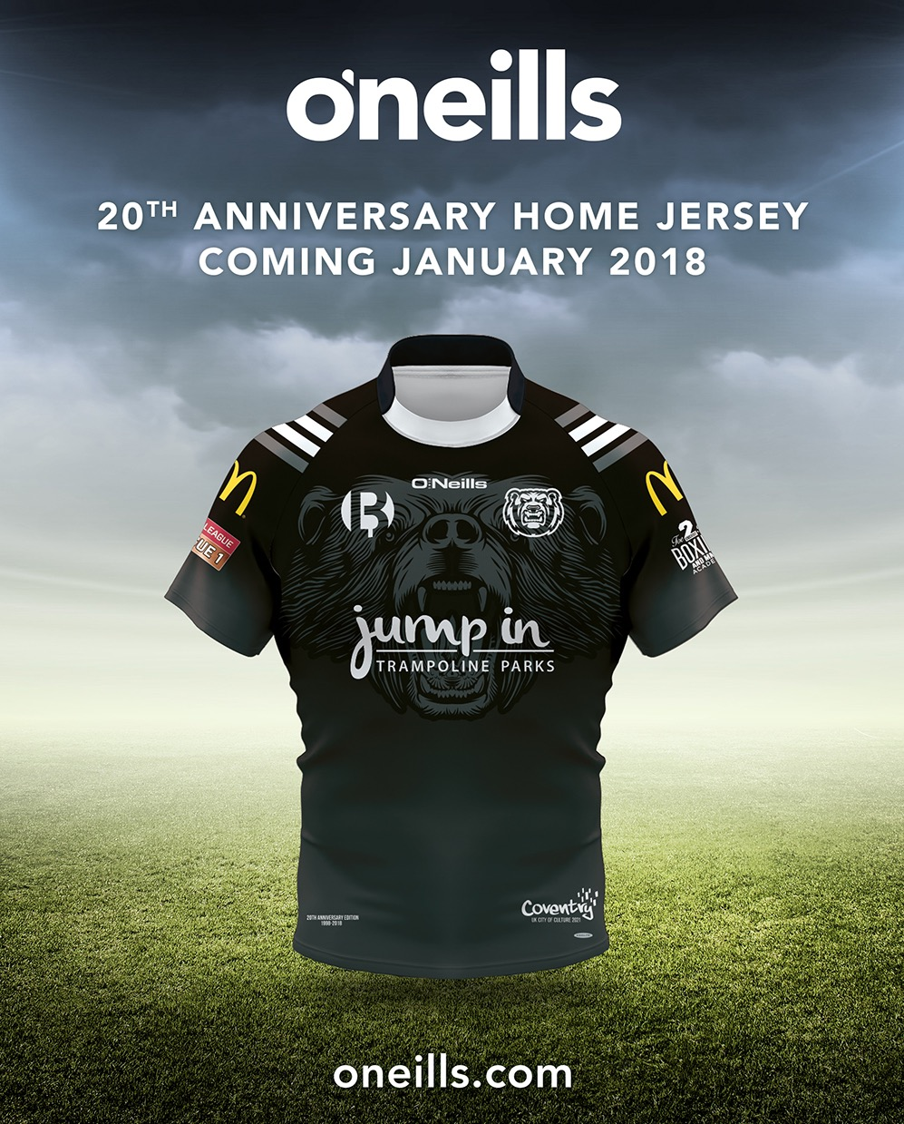 Bears 20th Anniversary Jersey
