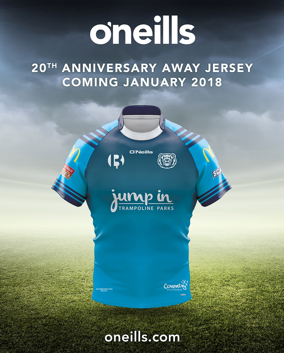 Coventry Bears 2018 Alternative Jersey