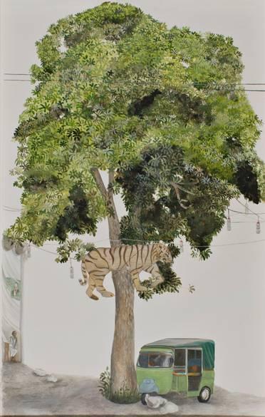 GALLERYSKE David Chalmers Alesworth Trees of Pakistan, 2013–14