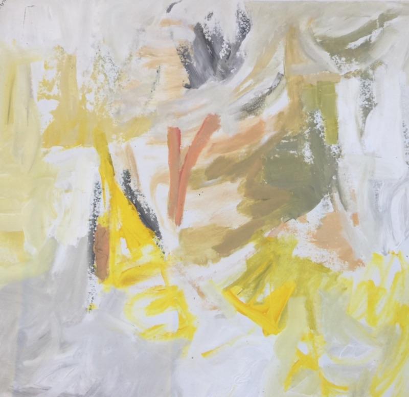 Spring Dance<br/>34x36 acrylic on canvas