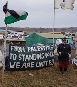 From Palestine to  the Pipeline -