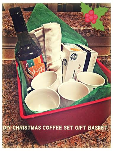 Coffee Gift Basket Idea — According To D