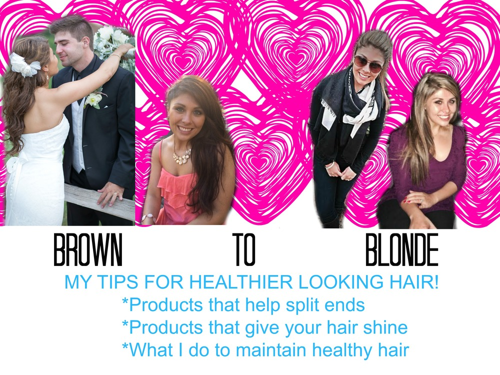 brown to blonde... My hair care treatments