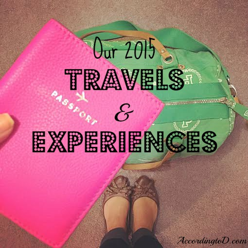 2015 travels and experiences