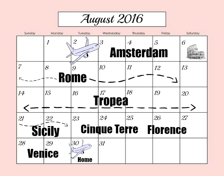 map of italy trip florence tuscany tropea cinque terre venice