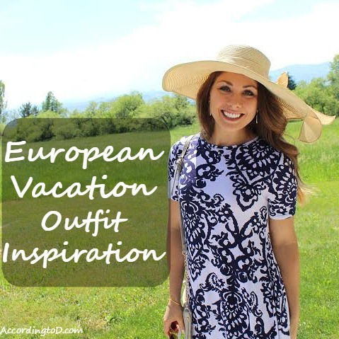 European Vacation Outfit Inspo