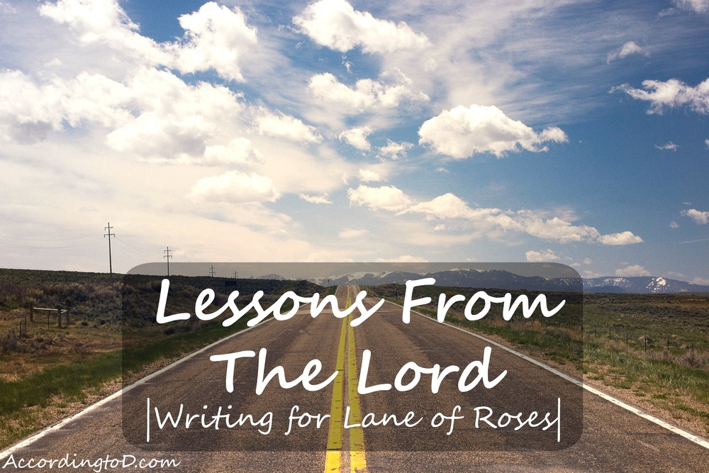 lessons from the lord