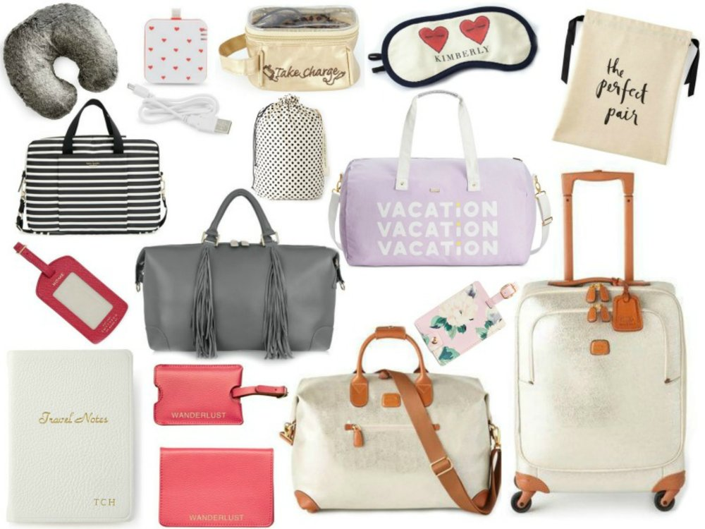 Must Have Feminine Travel Accessories According To D