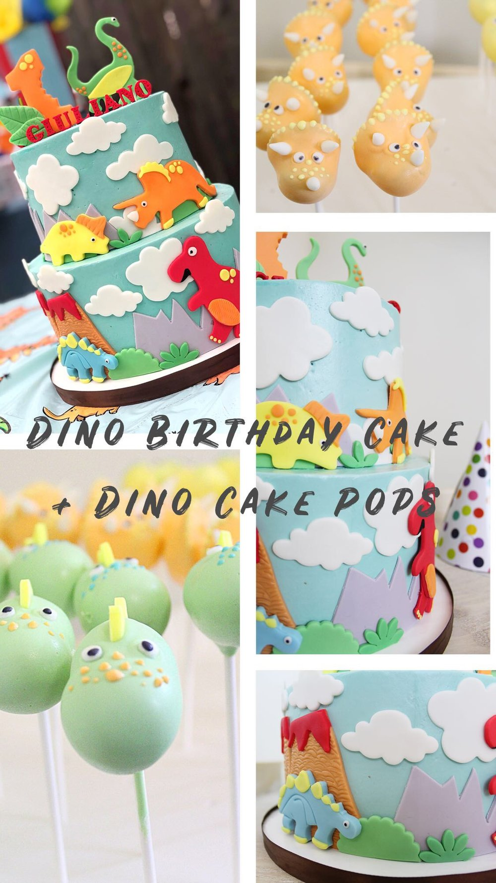 Dino Themed Baby Boy First Birthday Party