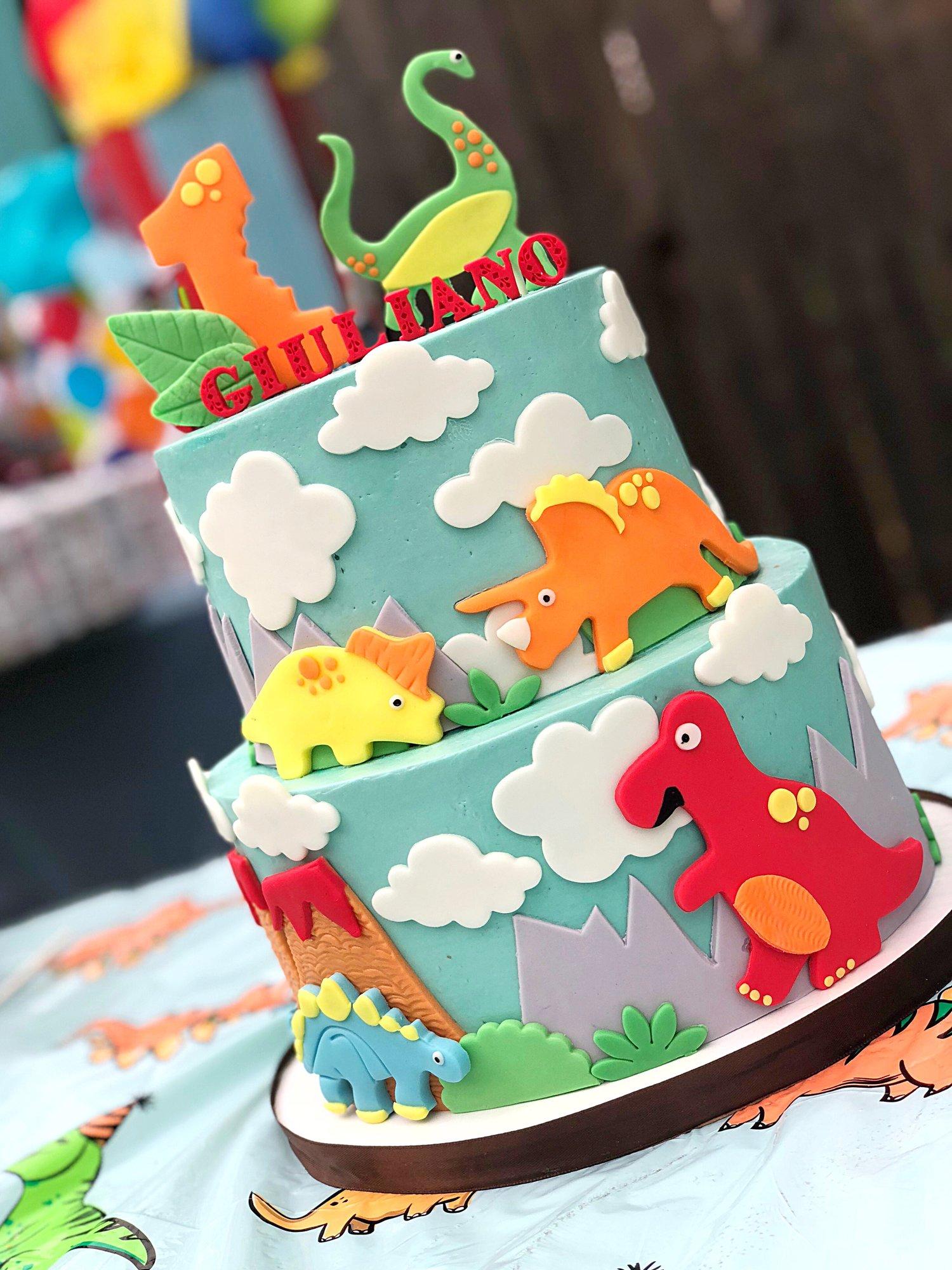 Dinosaur Boy First Birthday Party Shirt-Dino Theme First Birthday Shirt-Boy Dino one shirt-Boy One Dino Birthday-Dino Party-Dino Cake Smash